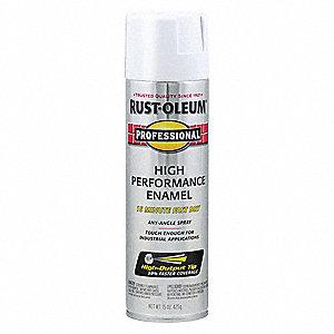 Professional Rust Preventative Spray Paint In Flat White For Aluminum Fiberglass Metal Plastic W