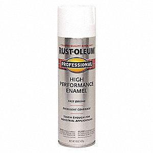 Professional Rust Preventative Spray Paint In Semi Gloss White For Aluminum Fiberglass Metal Plas