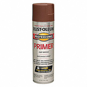 Professional Rust Preventative Spray Paint in Flat Red for Aluminum, Fiberglass, Metal, Plastic, Woo