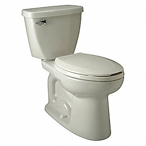 EcoVantage Two Piece Tank Toilet, 1.28 Gallons per Flush, White