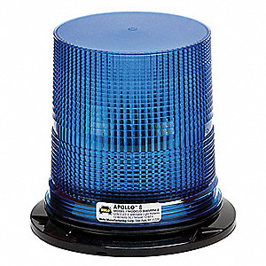 Strobe Light, Blue, Flashing