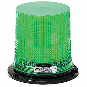 Strobe Light,Green,Flashing