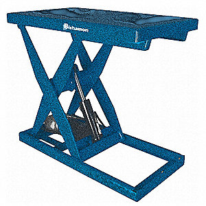 Scissor Lift  Table,Cap 3000 lb,28x48