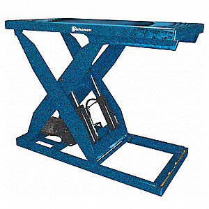Scissor Lift  Table,Cap 5000 lb,48x72