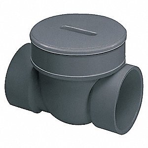 "6"" PVC Backwater Valve, 43 psi, 120°F"