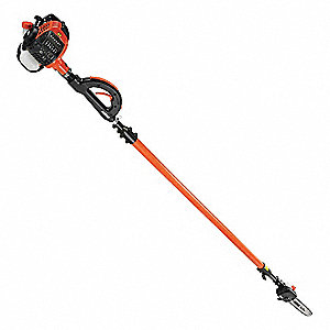Gas Powered Pole Saw,25.4CC,12 In. L