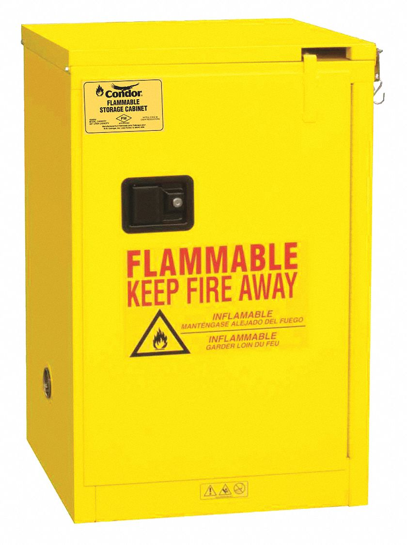 CONDOR Flammable Liquid Safety Cabinet,23 3/8in   45AE83|45AE83   Grainger