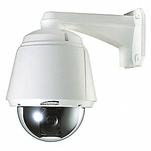Camera,3.5 to 98mm,White,8-43/64 in. H