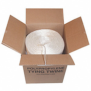 Rope,9000ft,Wht,10lb.,Polyprpylne