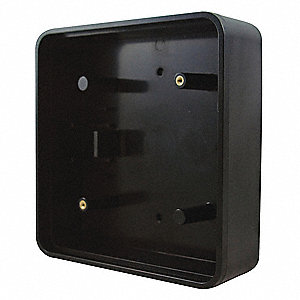 Square Mount Box,Plastic,6in. L