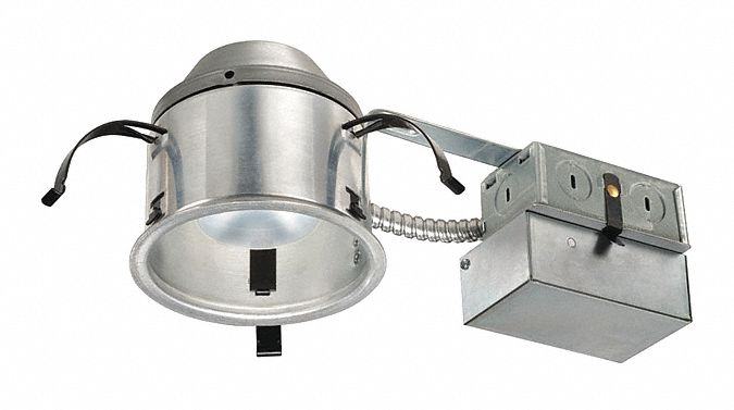 4 in LED Recessed Down Light for Airtight Remodel, IC Rated, 8.9 Max Wattage, 4,100 K Color