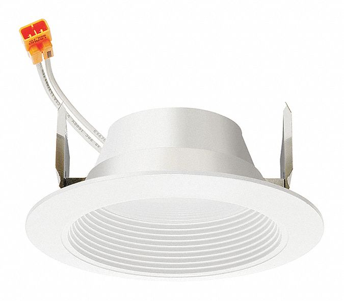 4 in Dimmable LED Retrofit Kit; Lumens: 678, Voltage: 120, Watts: 7.6 W