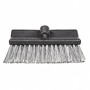 "10"" Polypropylene Bi-Level Brush Head"