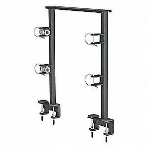 Black Trimmer Rack,33 1/2 In.