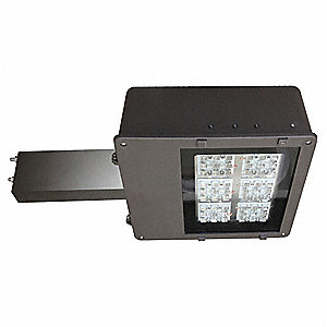8400 Lumens LED Floodlight, Dark Bronze, LED Replacement For 100W HPS/MH