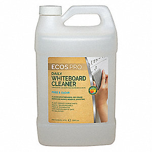 Dry Erase Board Cleaner,1 gal.