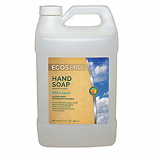 Unscented Liquid Hand Soap, 1 gal. Cartridge, Universal, 1 EA