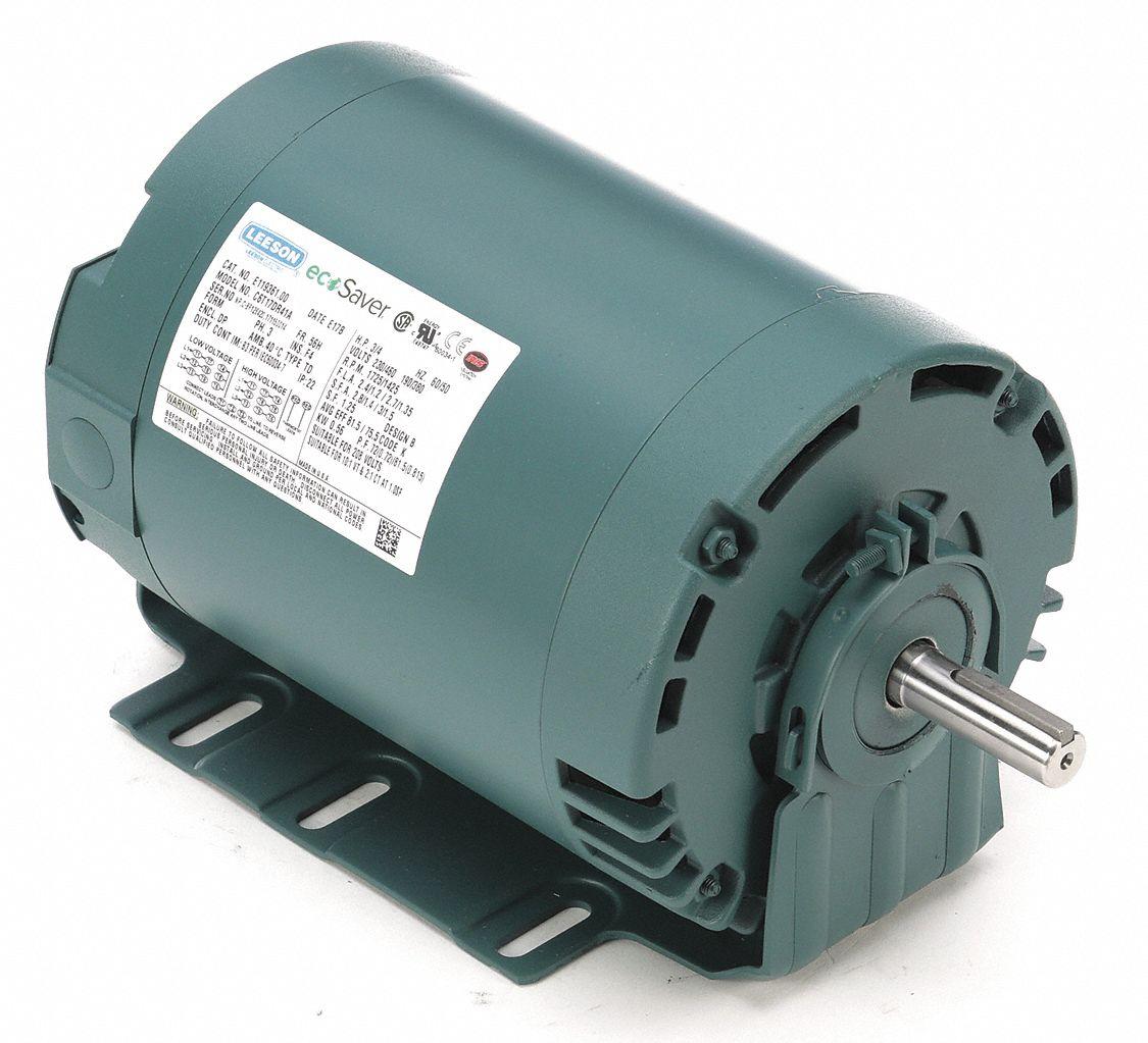 LEESON Metric Motor,230//460,60//50,2.4//1.2,D80C 192048.00