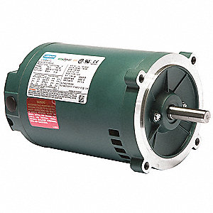 Leeson 1 4 hp general purpose motor 3 phase 1725 nameplate for 1 4 hp 3 phase motor