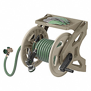 Wall Mount Hose Reel,15 in. dia