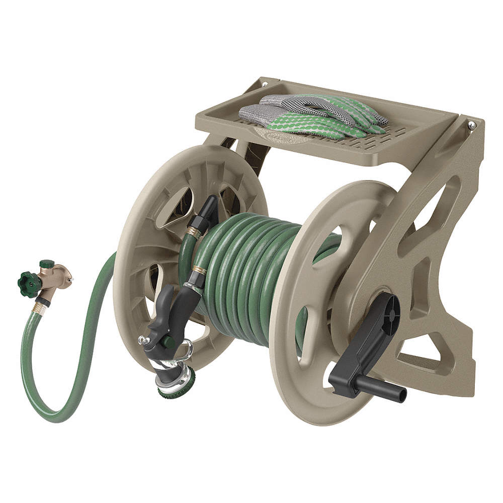 Suncast Cplwms200 Garden Hose Reel Wall Mount 15 In Resin 44365019611 Ebay