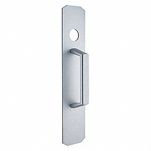 Night Latch Pull, Silver, Standard Duty