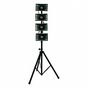 16 Channel Wireless Quad Horn Hailer Kit with 300 ft. Wireless Range