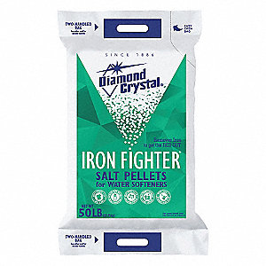 50 lb. Water Softener Salt, Iron Fighter Series, Pellets