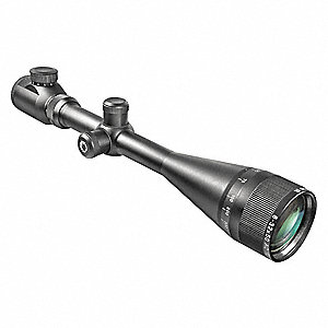 Rifle Scope, 8x to 32x Magnification, 50mm Objective Lens, Target Dot Reticle
