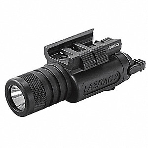Weapon Mounted Flashlight, Black, 0.19 lb