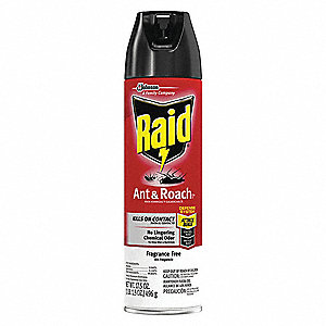 DEET-Free Outdoor Only Ant and Roach Killer, 17.5 oz. Aerosol