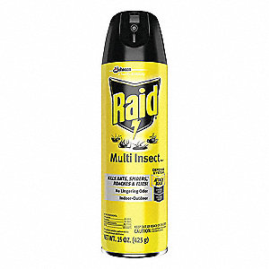 Insect Killer,  Aerosol,  15 oz.,  Indoor/Outdoor,  DEET-Free DEET Concentration