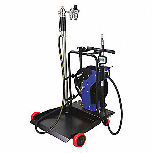 Oil Pump and Hose Reel Kit,55 gal.