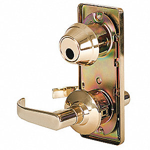 Lever Lockset,Mechanical,Passage,Grd. 2
