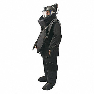 Excel Bomb Suit,XL,Black