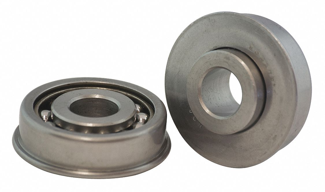 SCHATZ BEARING AF4864 Flanged Ball Bearing,2in dia,285lb
