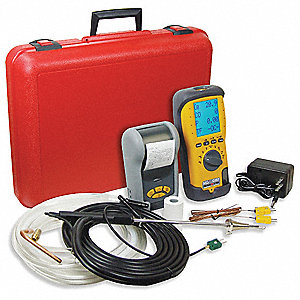 Industrial Combustion Analyzer W/NOX Kit
