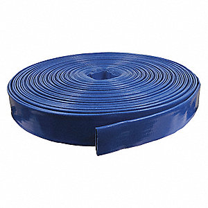 300 ft. Blue Water Discharge Hose, 80 psi