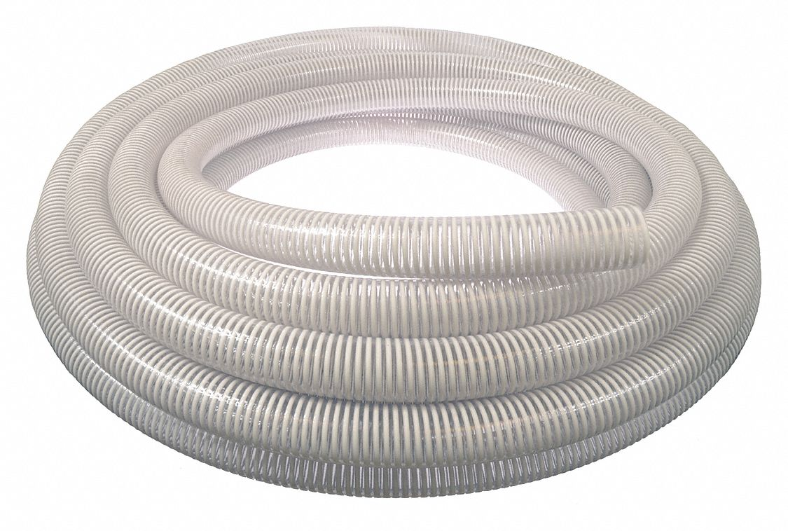 Grainger Approved Water Suction Hose Bulk Hose Pvc 2 In Hose Inside Dia 100 Ft 45du60 45du60 Grainger