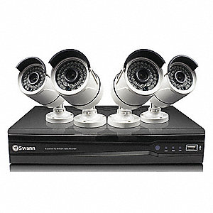 Professional HD Security System 4x3 MP