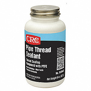 8 oz. Bottle Pipe Thread Sealant, White