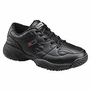 Athletic Shoes,Men,10-1/2W,Lace,Blk,PR