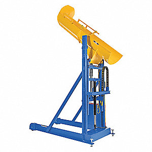 Drum Dumper,87-3/4 in. H,1500 lb.,115V