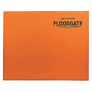 "DOORWAY FLOOD GUARD,48LB,45"" LX1-1/2""W"