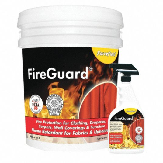 Fire Retardant Spray,  Size 22 oz,  90 sq ft Coverage,  PK 6