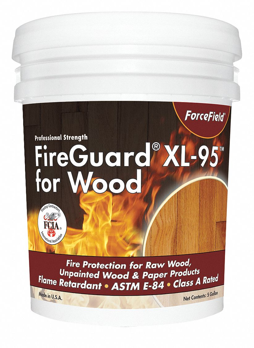Flame Retardant Coating,  Size 1 gal,  125 sq ft/gal Coverage,  PK 4