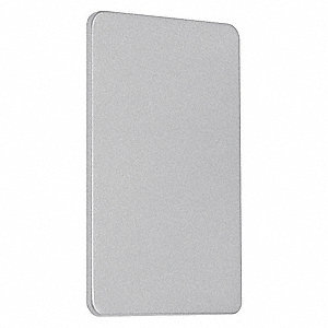 Exit Only Cover Plate,Aluminum,500