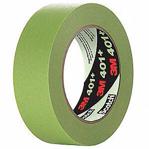 "Masking Tape,Green,2-54/64"" W,Circle,PK8"