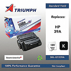 SOURCE AMERICA Remanufactured Black Toner Cartridge, For Use with or Fits HP CP4525 Color