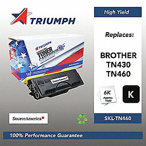 Brother Toner Cartridge, No. TN460, Black